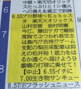 テレビ欄1